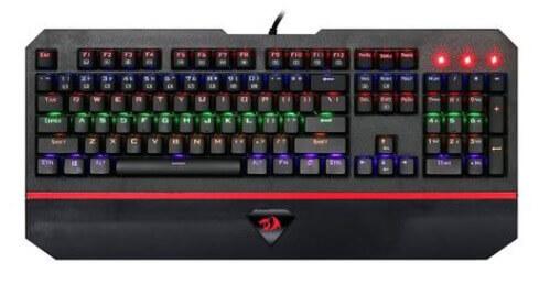 tastatura de gaming luminata redragon andromeda