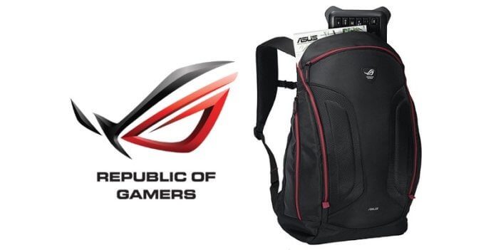 rucsac laptop gaming 17,3 ASUS ROG Shuttle V2